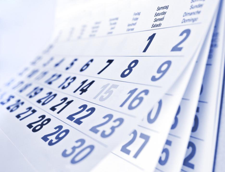 Данъчно-осигурителен календар за периода от 30.09 до 06.10 2018 г.